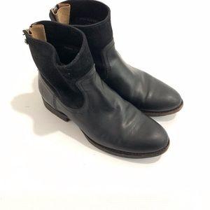 FRYE Black Jamie Zip Boot Women Sz 6.5 B